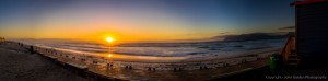 muizenberg beach-panorama